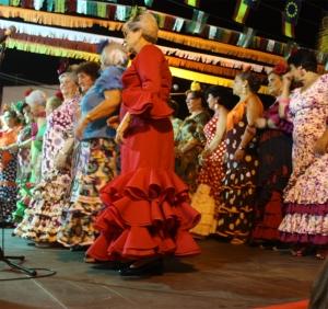 Flamencodansgroep uit Frigiliana
