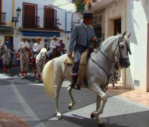 Nerja Feria Paarden