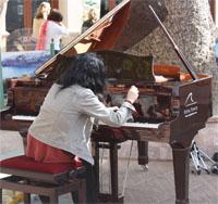 Noche en Blanco 2013 pianiste