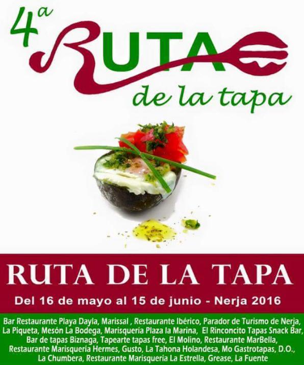 Nerja Tapasruta 2016