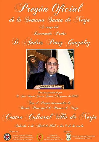 Nerja Semana Santa presentatie