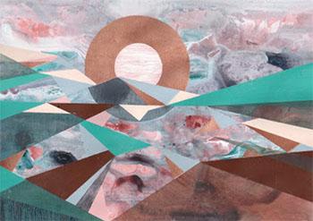 Frigiliana Krabbe Landscape A4