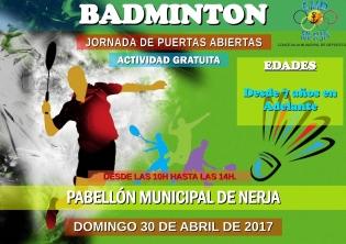 Nerja Badminton 2017 open dag