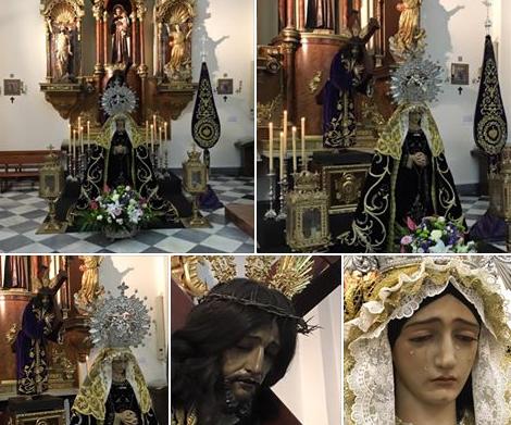 Nerja Semana Santa El Salvador kerk