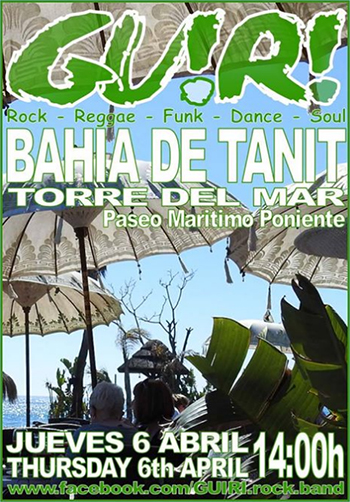 Torre del Mar Bahia de Tanit Guiri april 17
