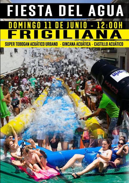 Frigilana Fiesta del Agua 2017