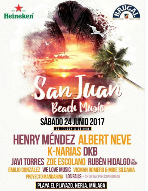 Nerja San Juan Beach Music