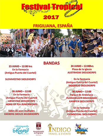 Frigiliana Festival Tropical 2017