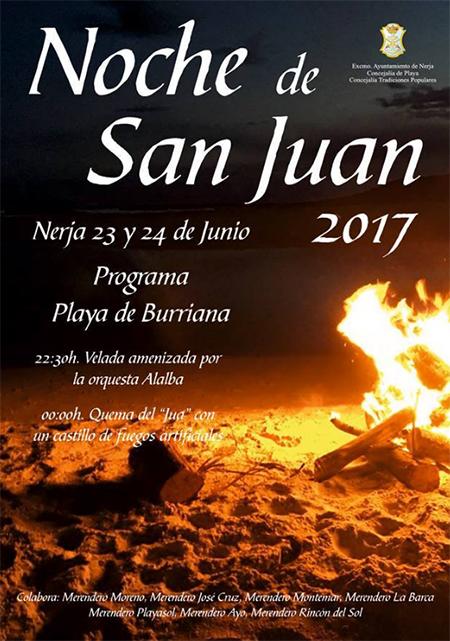 Nerja San Juan 2017 poster