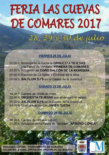 Comares Ferie las Cuevas 2017