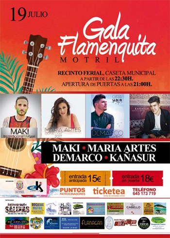 Motril Gala Flamenquita 2017