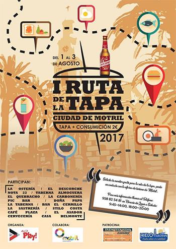 Motril Tapasroute 2017
