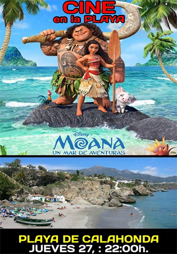 Nerja Cine en la Playa Moana