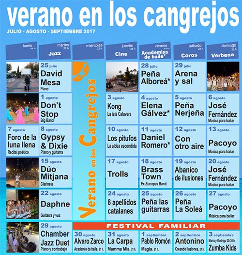 Nerja Verano en Cangrejos 2017