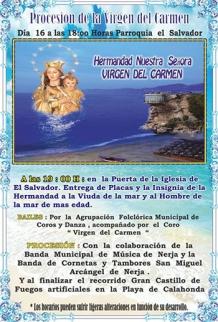 Nerja Virgin del Carmen 2017 2