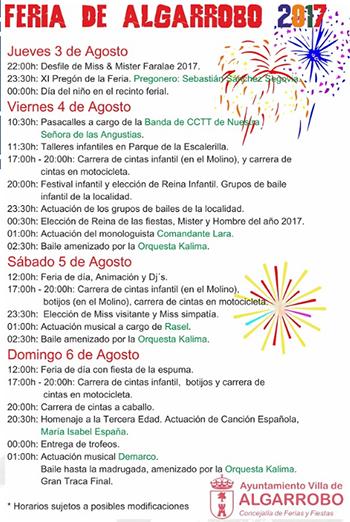 Algarrobo Feria 2017