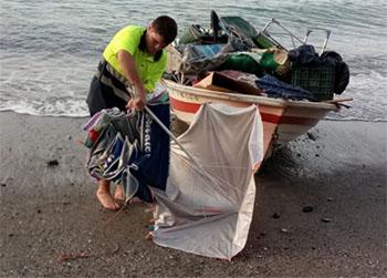 Maro strand schoonmaak 201708
