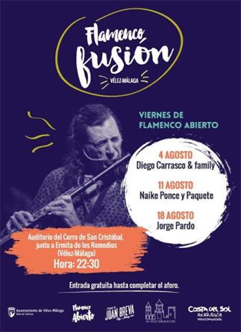 Velez Malaga Flamenco Fusion 20170818