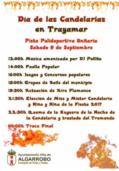 Algarrobo Dia de las Candalarias 2017