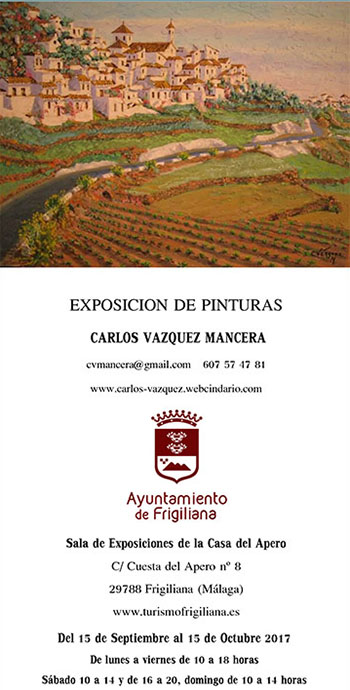 Frigiliana Expo Pinturas Vazquez