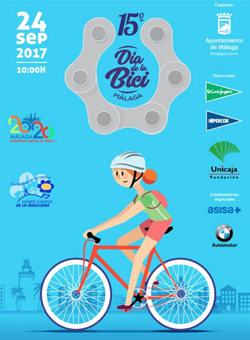 Malaga Dia de la Bici