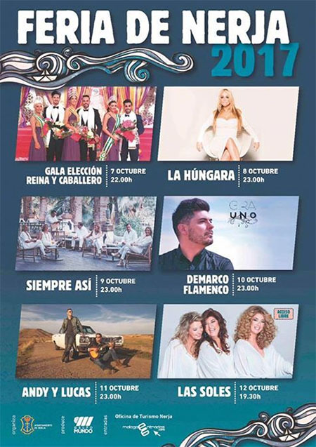 Nerja Feria 2017 programma