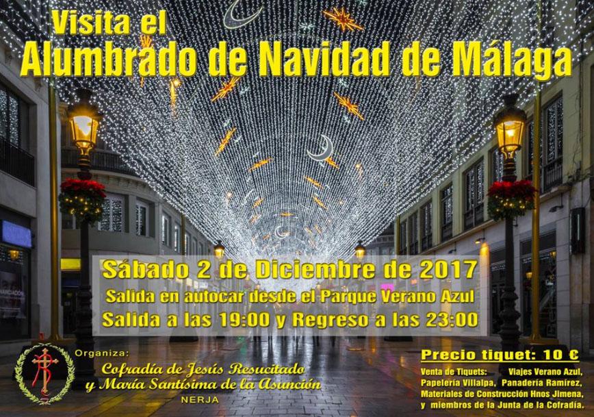 Malaga kerstverlichting 2017 groot