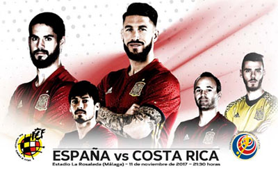 Voetbal SpanjeCostaRica