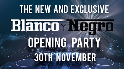 Nerja Blanco y Negro opening
