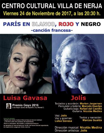 Nerja CCN Paris en blanco roja y negro