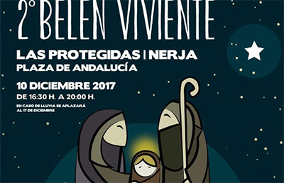 Nerja Kerststal Protegidas 2017