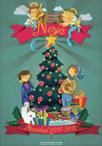 Nerja Kerstposter 2017