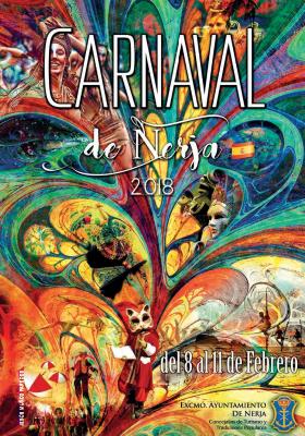 Nerja Carnaval 2018 poster