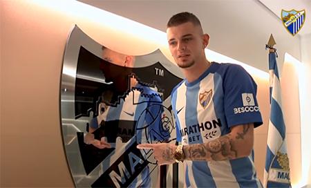 Malaga Voetbal Lestienne