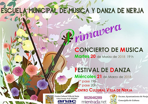 Nerja Escuela Musica y Danza 2018