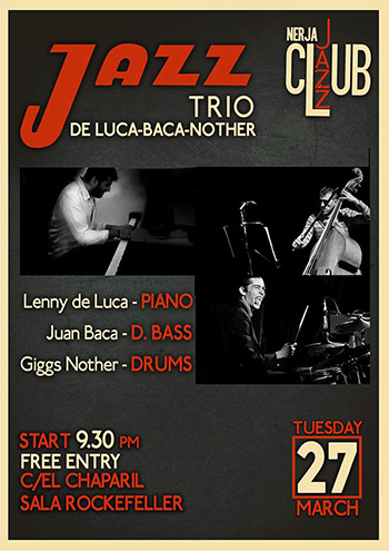 Nerja Jazz Club Greta Jazz Trio