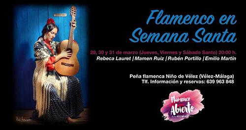 Velez Pena Flamenca Semana Santa
