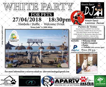 Algarrabo White Party