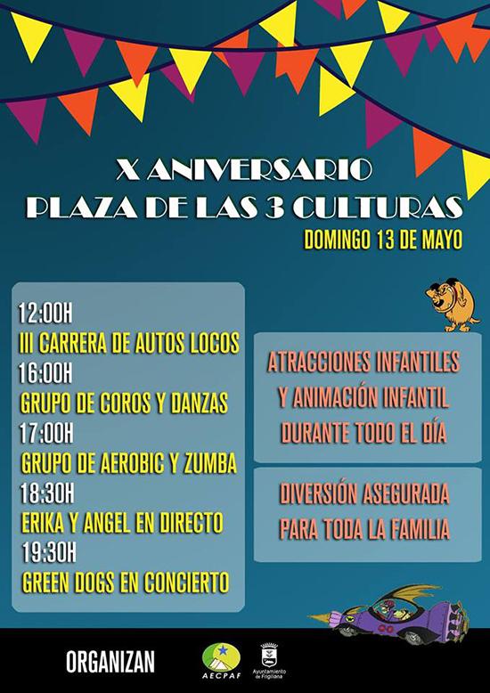 Frigiliana Plaza 3 Culturas 10e verjaardag