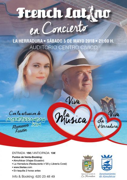 La Herradra French Latino Concert