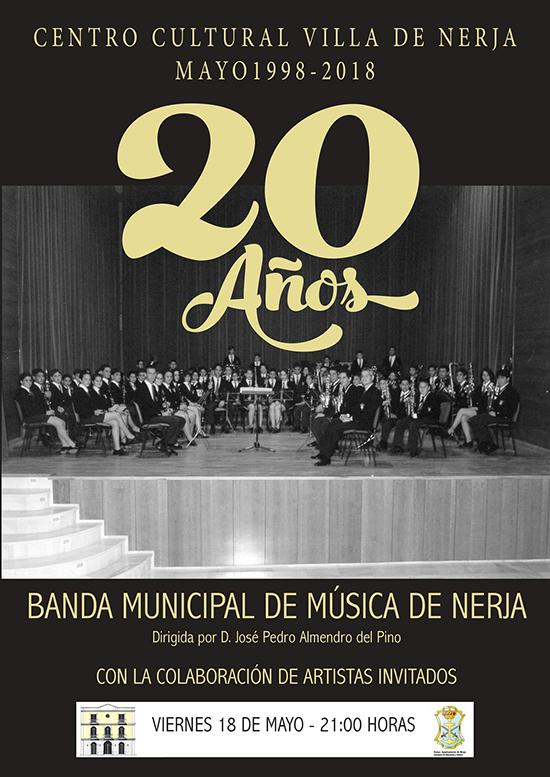 Nerja CCN Jubileumconcert Banda de Musica