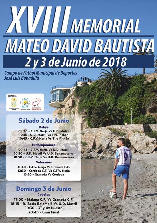 Nerja Memorial Bautista 2018