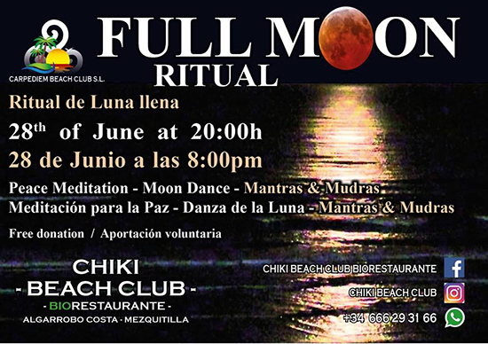 Algarrobo Full Moon Ritual