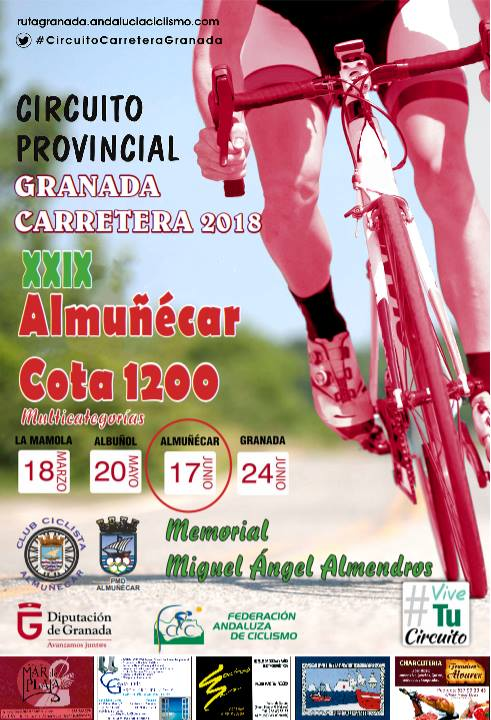 Almunecar wielerkoers 2018