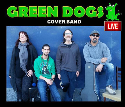 Frigiliana Osemy Green Dogs band