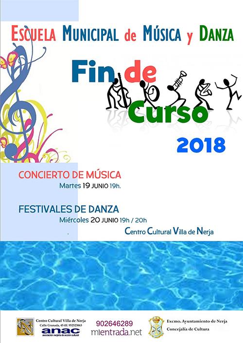 Nerja CCN Escuela Musica y Danza 2018 seizoenafsluiting