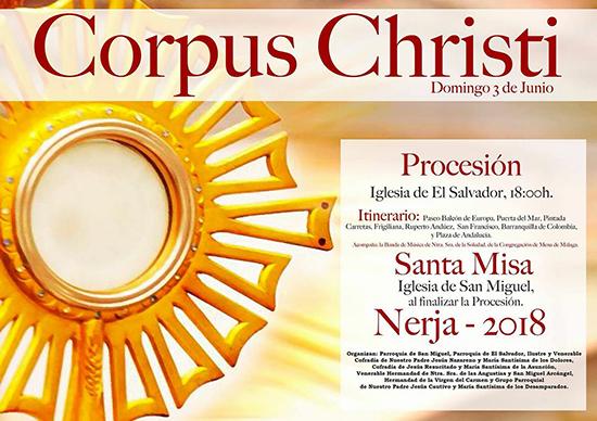 Nerja Corpus Christi 2018