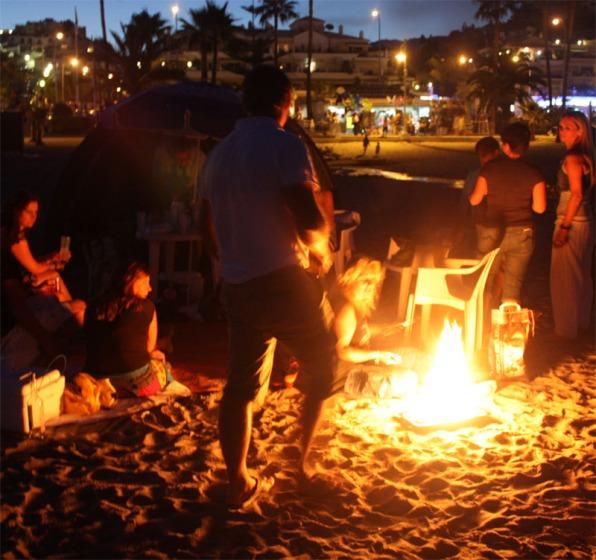San Juan 2013 Burrina 800752 Kampvuur