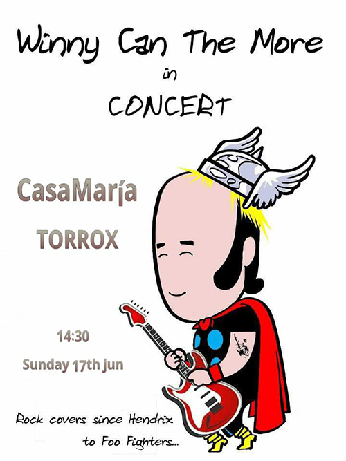 Torrox Casa Maria Winnie can the More