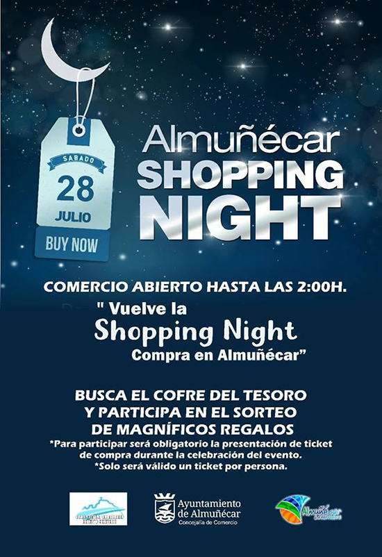 Almunecar Shopping Night 2018